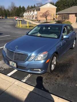 2010 Mercedes-Benz E-Class for sale at PREOWNED CAR STORE in Bunker Hill WV