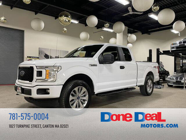 2018 Ford F-150 for sale at DONE DEAL MOTORS in Canton MA