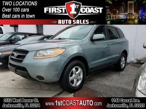2008 Hyundai Santa Fe for sale at 1st Coast Auto -Cassat Avenue in Jacksonville FL