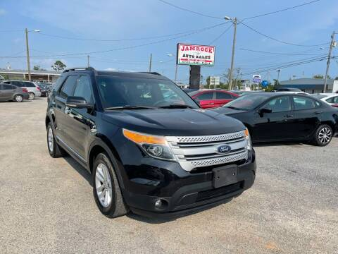 2013 Ford Explorer for sale at Jamrock Auto Sales of Panama City in Panama City FL