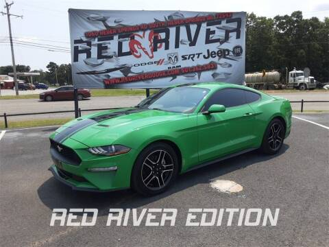 2019 Ford Mustang for sale at RED RIVER DODGE - Red River of Malvern in Malvern AR