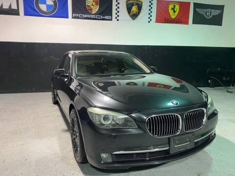 2009 BMW 7 Series for sale at LG Auto Sales in Rancho Cordova CA