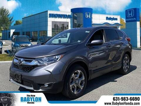 2018 Honda CR-V for sale at MILLENNIUM HONDA in Hempstead NY