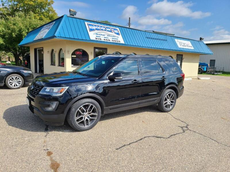 2016 Ford Explorer for sale at Dukes Auto Sales in Glyndon MN