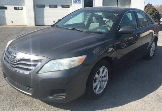 2010 Toyota Camry for sale at LEB-MYER MOTORS in Lebanon PA