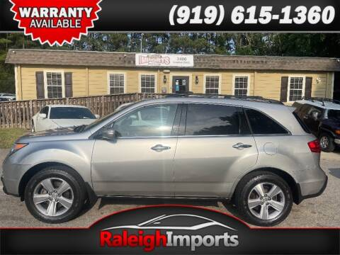 2011 Acura MDX for sale at Raleigh Imports in Raleigh NC