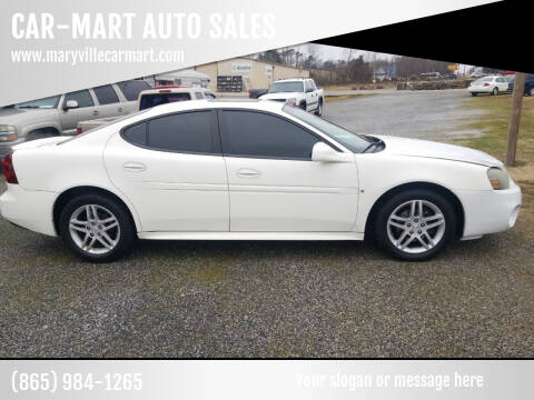 2007 Pontiac Grand Prix for sale at CAR-MART AUTO SALES in Maryville TN