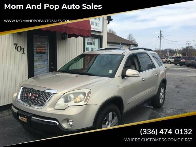 2009 GMC Acadia for sale at Mom and Pop Auto Sales LLC in Thomasville NC