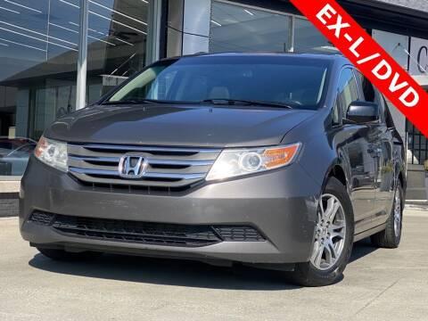 2012 Honda Odyssey for sale at Carmel Motors in Indianapolis IN