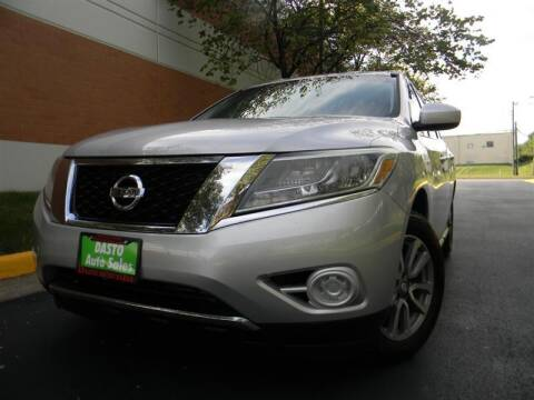 2014 Nissan Pathfinder for sale at Dasto Auto Sales in Manassas VA