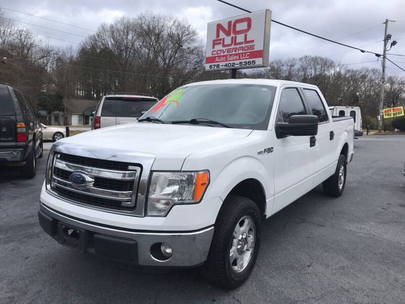 2013 Ford F-150 for sale at No Full Coverage Auto Sales in Austell GA
