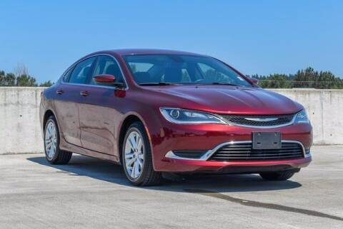 2015 Chrysler 200 for sale at Chevrolet Buick GMC of Puyallup in Puyallup WA