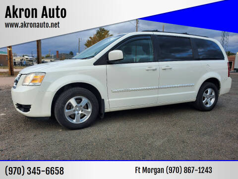 2009 Dodge Grand Caravan for sale at Akron Auto in Akron CO