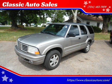 2000 Oldsmobile Bravada for sale at Classic Auto Sales in Maiden NC