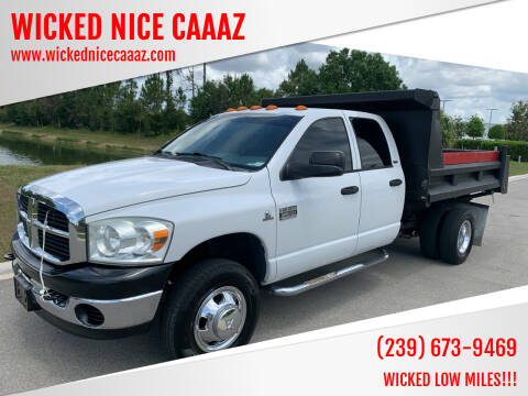 2007 Dodge Ram Chassis 3500 for sale at WICKED NICE CAAAZ in Cape Coral FL