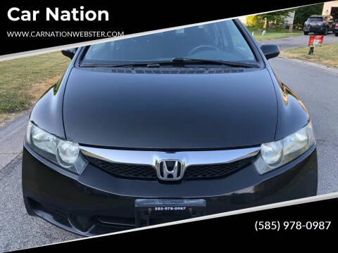 2011 Honda Civic for sale at Car Nation in Webster NY