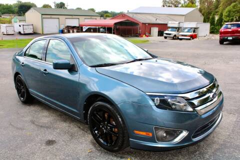 2012 Ford Fusion for sale at Prime Time Auto Sales LLC in Martinsville IN