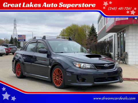 2011 Subaru Impreza for sale at Great Lakes Auto Superstore in Pontiac MI