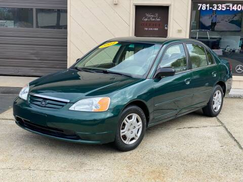2002 Honda Civic for sale at Eagle Auto Sales LLC in Holbrook MA