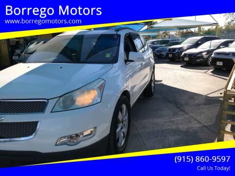 2010 Chevrolet Traverse for sale at Borrego Motors in El Paso TX