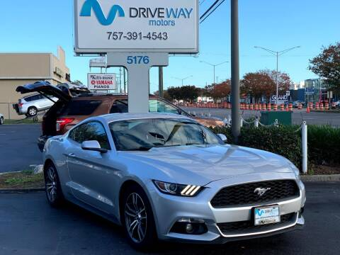 2017 Ford Mustang for sale at Driveway Motors in Virginia Beach VA