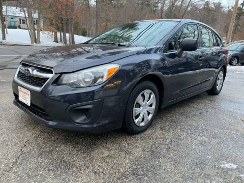 2013 Subaru Impreza for sale at Old Rock Motors in Pelham NH