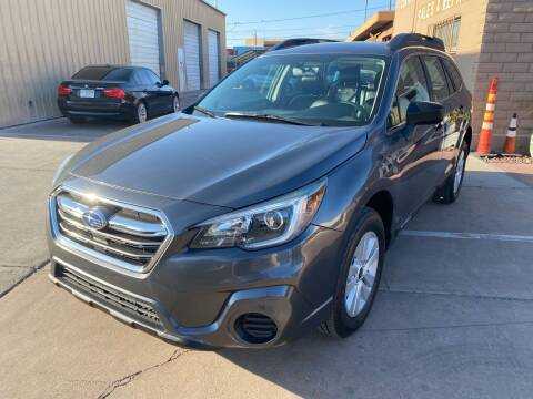 2018 Subaru Outback for sale at CONTRACT AUTOMOTIVE in Las Vegas NV