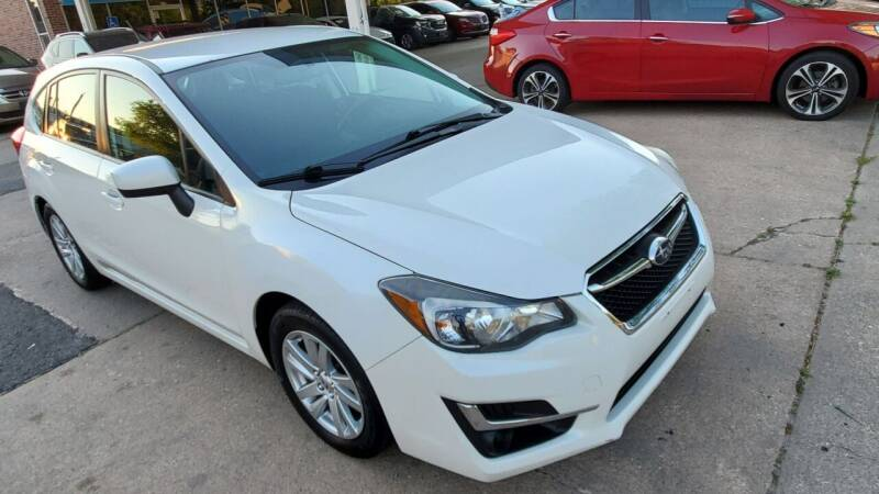 2015 Subaru Impreza for sale at Divine Auto Sales LLC in Omaha NE