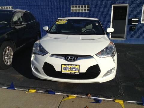 2013 Hyundai Veloster for sale at Worldwide Auto Sales in Fall River MA