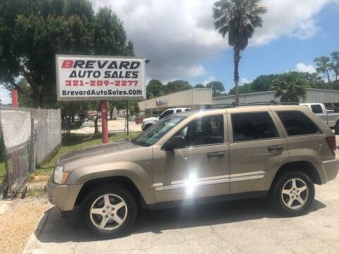 2005 Jeep Grand Cherokee for sale at Brevard Auto Sales in Palm Bay FL