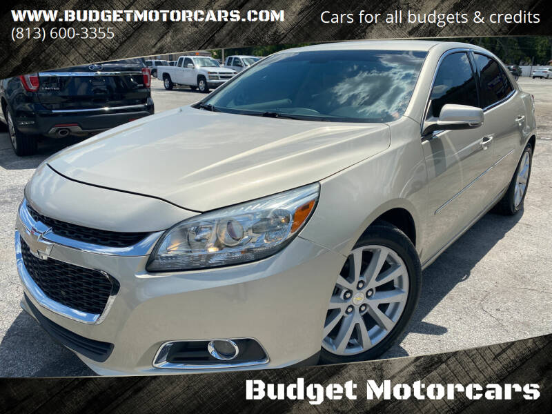 2015 Chevrolet Malibu for sale at Budget Motorcars in Tampa FL