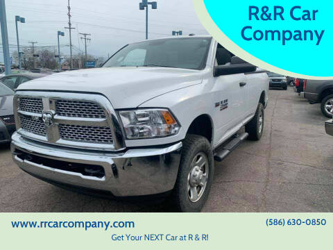 2015 RAM Ram Pickup 2500 for sale at R&R Car Company in Mount Clemens MI