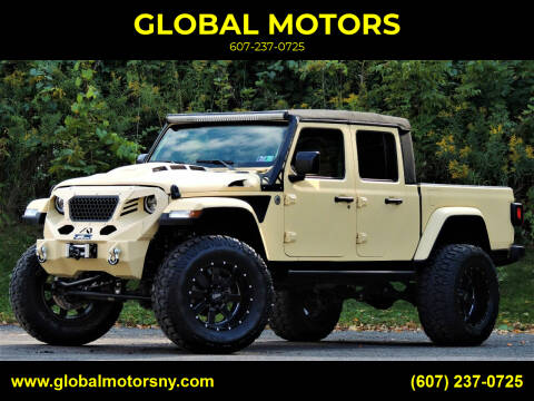 2020 Jeep Gladiator for sale at GLOBAL MOTORS in Binghamton NY