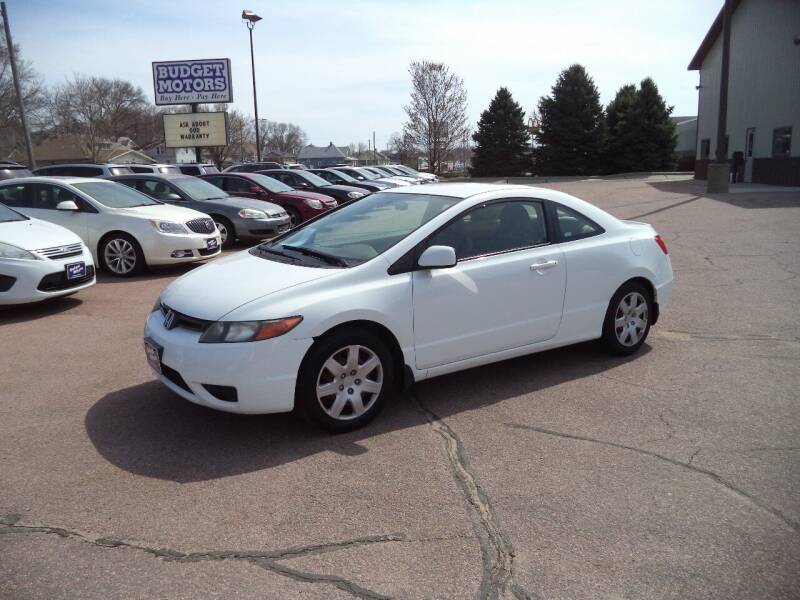 2007 Honda Civic for sale at Budget Motors - Budget Acceptance in Sioux City IA