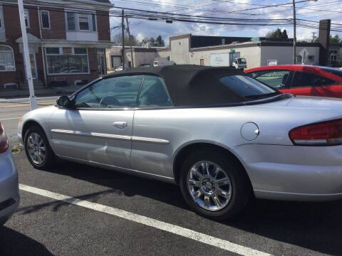 2006 Chrysler Sebring for sale at Heritage Auto Sales in Reading PA
