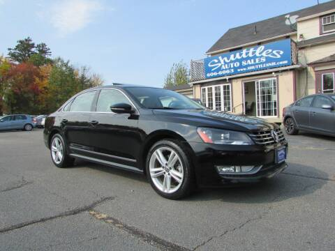 2012 Volkswagen Passat for sale at Shuttles Auto Sales LLC in Hooksett NH