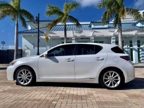 2013 Lexus CT 200h for sale at AUTOSPORT MOTORS in Lake Park FL