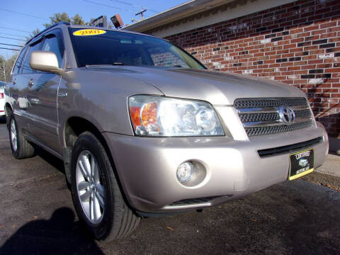 2007 Toyota Highlander Hybrid for sale at Certified Motorcars LLC in Franklin NH