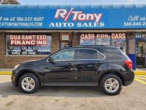 2011 Chevrolet Equinox for sale at R Tony Auto Sales in Clinton Township MI