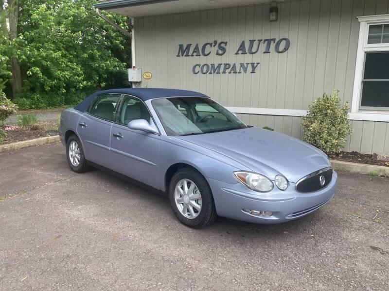 2006 Buick LaCrosse for sale at MAC'S AUTO COMPANY in Nanticoke PA