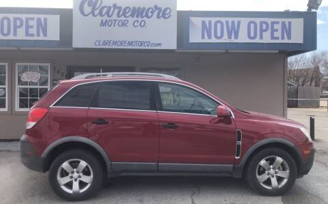 2012 Chevrolet Captiva Sport for sale at Claremore Motor Company in Claremore OK