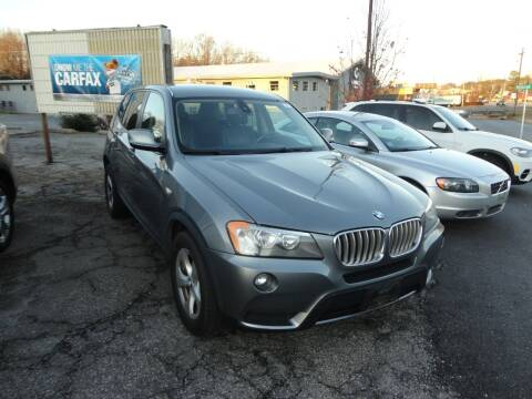 2012 BMW X3 for sale at HAPPY TRAILS AUTO SALES LLC in Taylors SC