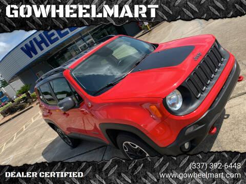 2015 Jeep Renegade for sale at GOWHEELMART in Leesville LA