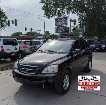 2006 Kia Sorento for sale at Corridor Motors in Cedar Rapids IA
