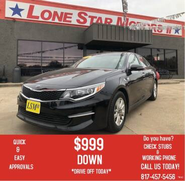 2016 Kia Optima for sale at LONE STAR MOTORS II in Fort Worth TX