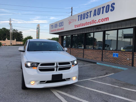 2013 Dodge Durango for sale at Trust Autos, LLC in Decatur GA