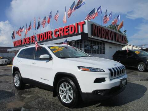 2017 Jeep Cherokee for sale at Giant Auto Mart 2 in Houston TX