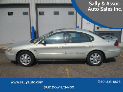 2004 Ford Taurus for sale at Sally & Assoc. Auto Sales Inc. in Alliance OH