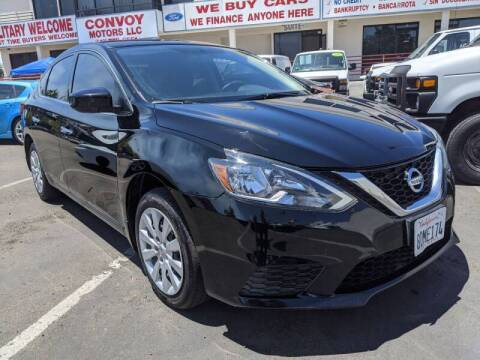 2016 Nissan Sentra for sale at Convoy Motors LLC in National City CA