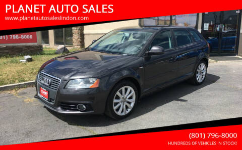 2009 Audi A3 for sale at PLANET AUTO SALES in Lindon UT